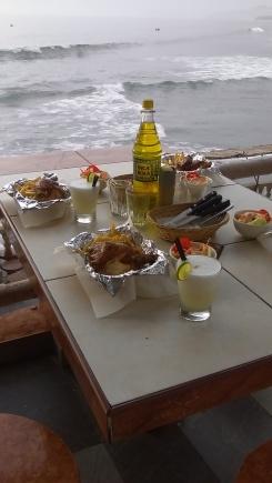 Chicken, Pisco Sours & Inca Cola